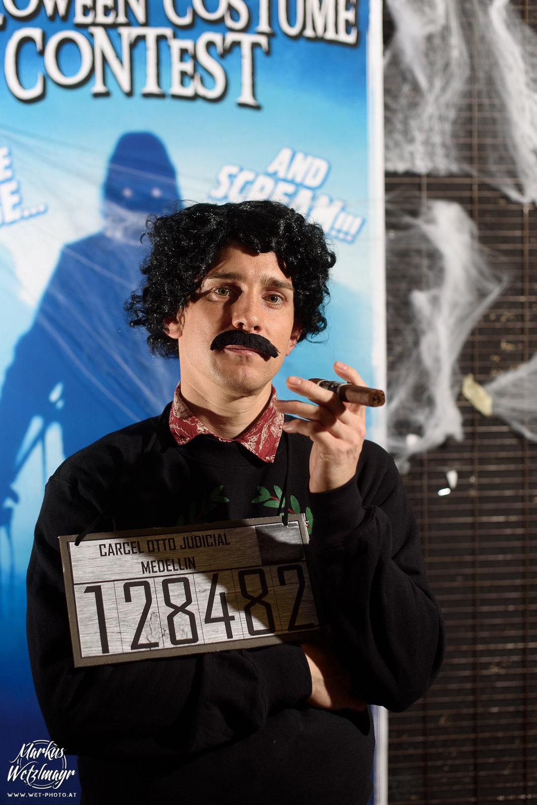 "#8 - Thomas Pospischil, ""Pablo Escobar"" - Everyday is Halloween, 15 Years of BZFOS"