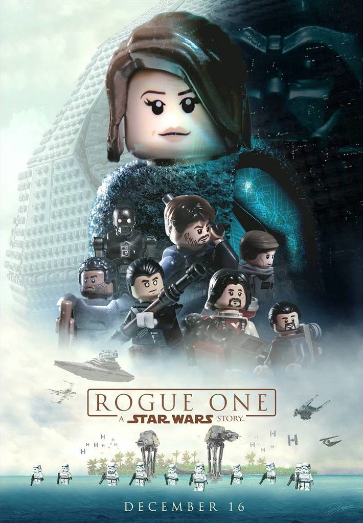 Lego Star Wars Rogue One Movie Poster Pasq67 Flickr