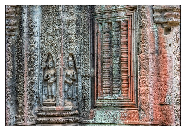 Detail Cambodian temple