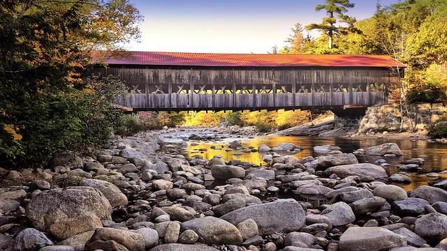 Covered bridge near Conway, NH