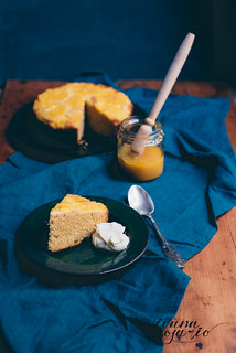 orange polenta cake | by Ivana Rosario ·