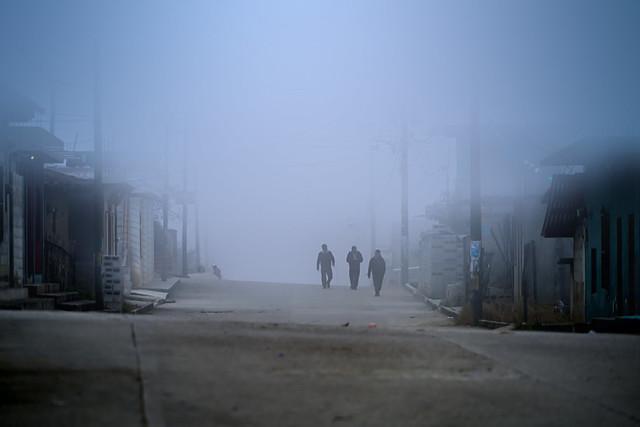Fog Zinacantan Chiapas