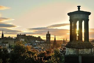 Edinburgh from Calton Hill | by jogarc