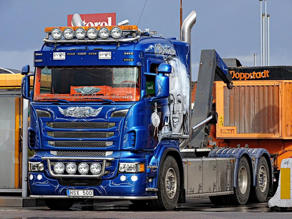 Scania R730 - Mickes Åkeri AB (Marilyn Monroe) | Malmö/Swede