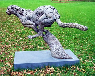 Cheetah Launch Pad Sculpture In Kew Gardens. | by Jim Linwood