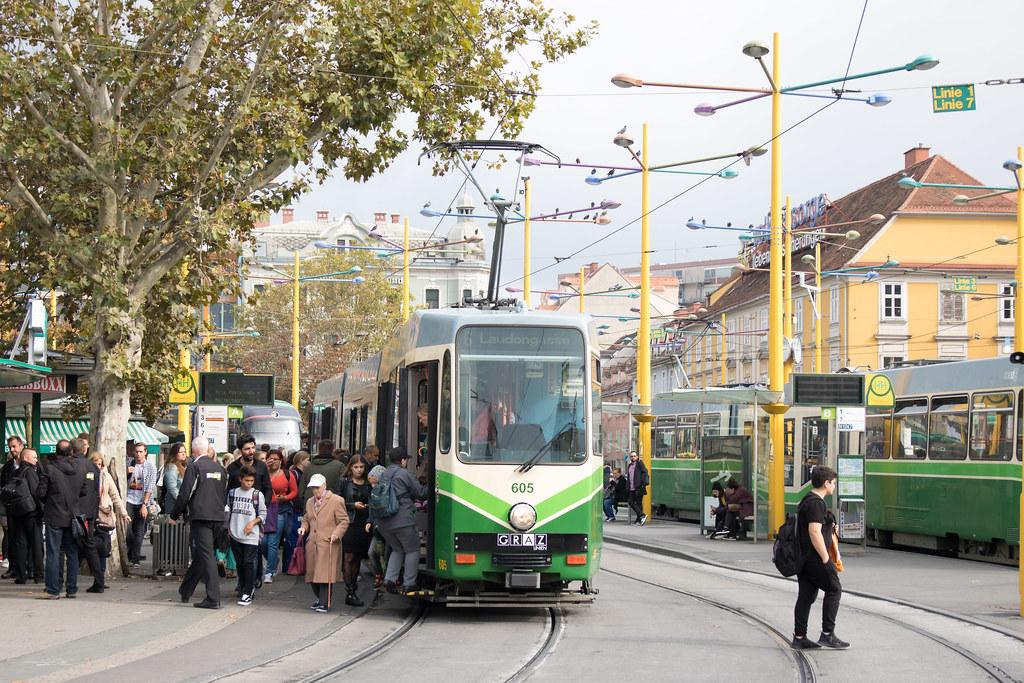 Public transport in Graz