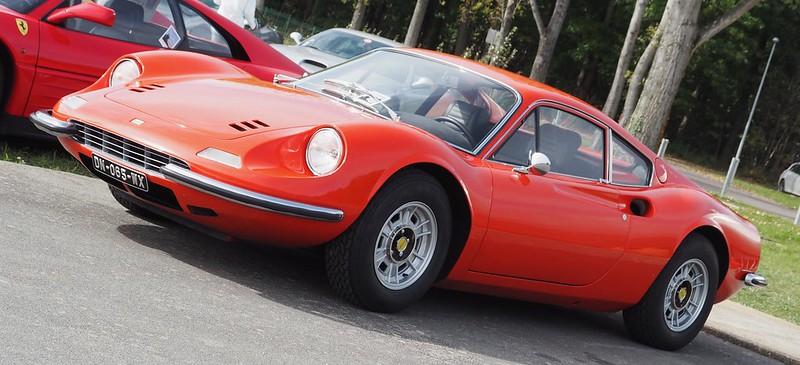 Ferrari Berlinetta Dino 246 GT    Linas Montlhéry Octobre 2017 37528808526_59c3946e54_c