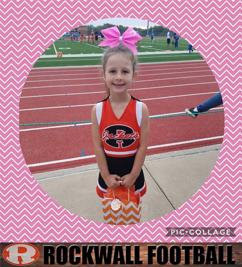 Look At Our 1st Grade Spirit Girl Of The Week Jacey Jordan Flickr