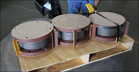 Single Expansion Joints for a Pipeline in Louisiana