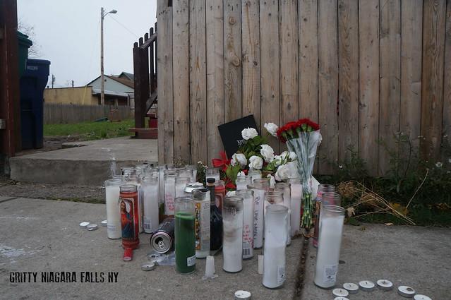 Homicide Memorial in Niagara Falls New York