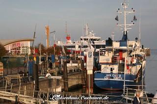 Am Alten Hafen in Cuxhaven   by Stilkollektiv