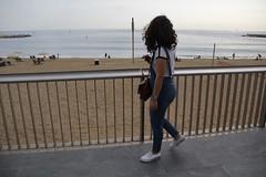 Cielo en la Barceloneta