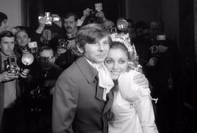 Sharon Tate & Roman Polanski Wedding, Chelsea, London, UK, January 20, 1968