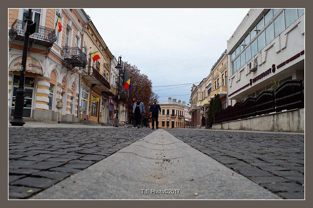 Botosani old city center