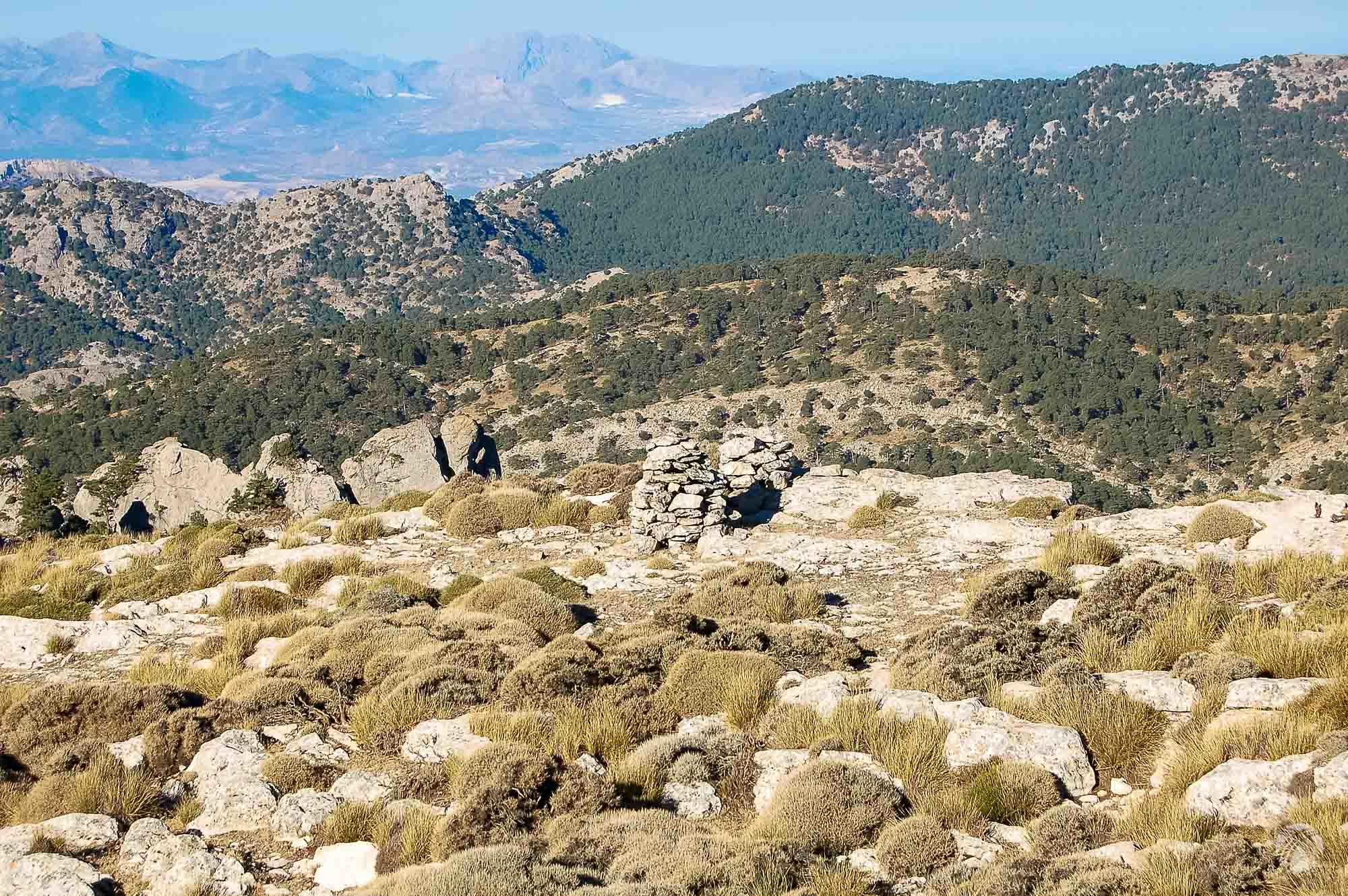 Buenas vistas hacia Sierra Mágina