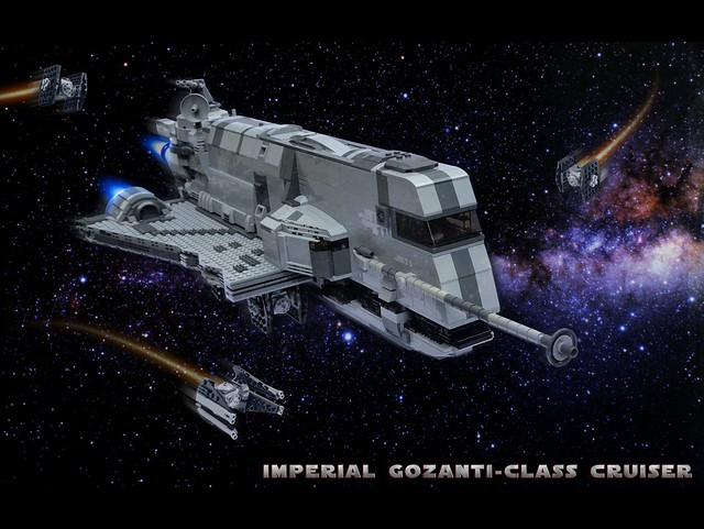 Gozanti in space