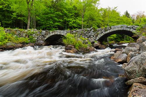stoddard newhampshire usa unitedstates stonebridge bridge outdoors nature landscape river water flow rocks trees bwfilters nikon nikond610 tscolors