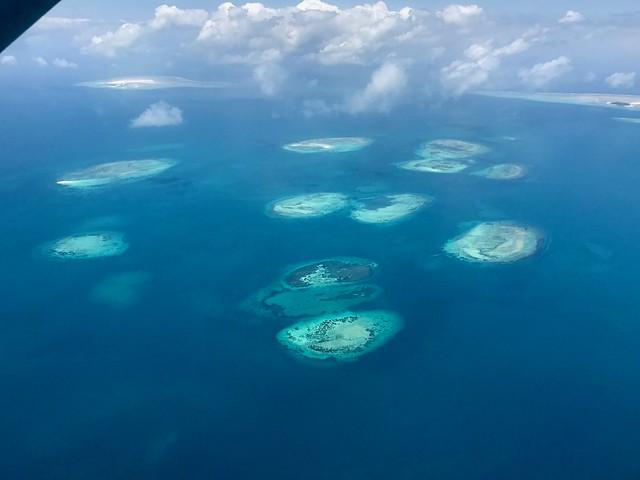 Flight leaving Mafia Island