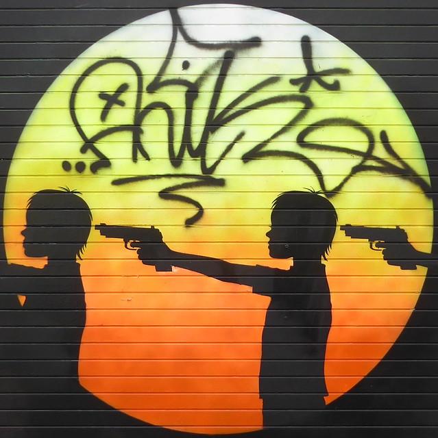 Otto Schade graffiti, Shoreditch