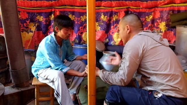 Jeu chanté Mongolie