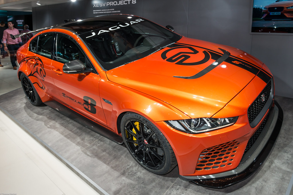 Jaguar Xe Sv Project 8 >> Jaguar Xe Sv Project 8 894177 Equipped With A 600hp 5 0l