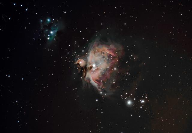 Running Man & M42 Orion Nebula 27/10/17 (Explored)