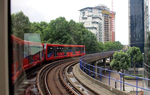 Docklands Light Rail, London