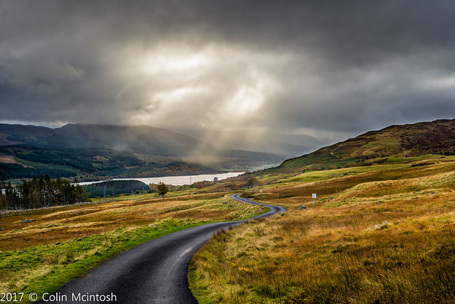 DSC_5200: Loch Tay from the slopes of Ben Lawers