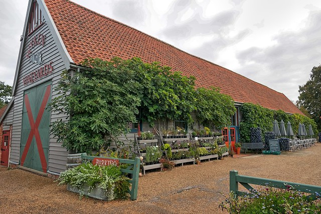Bury St Edmunds, Wyken Vineyards  Barn