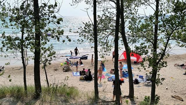 À Outlet Beach Au Bord Du Lac Ontario. 2017 07 21 16:22.22