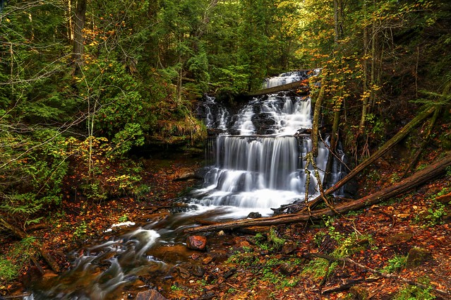 Wagner Falls in Autumn