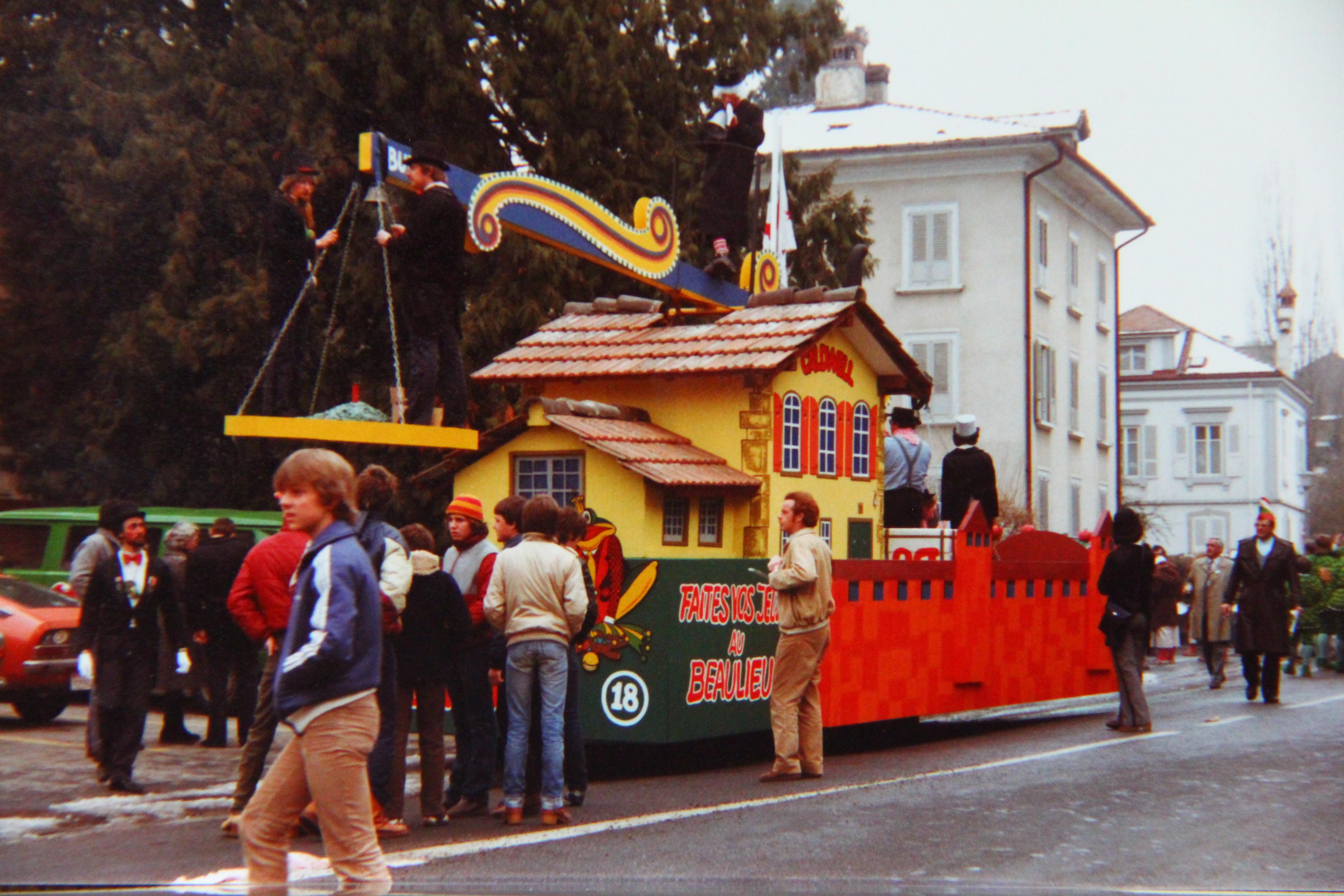 1982 Umzug