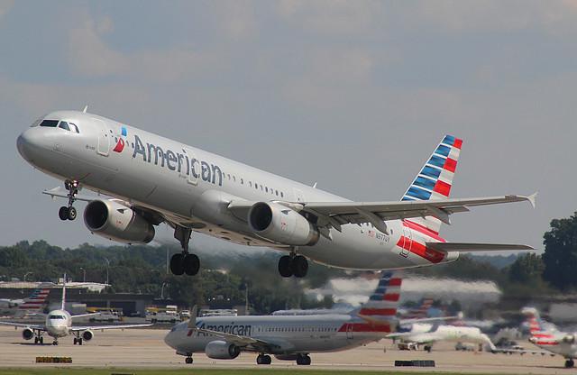 American Airlines N977UY Ex N565UW