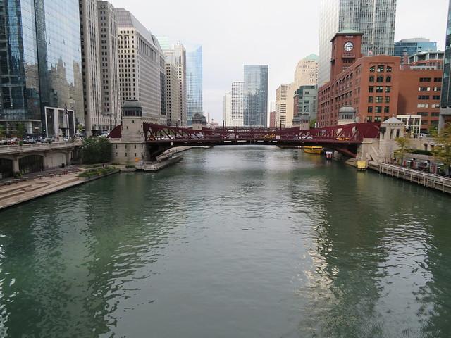 Clark Street Bridge - Chicago River