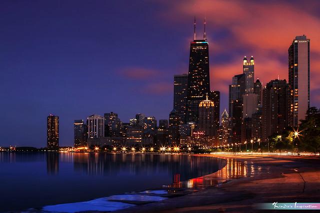 Ten Minutes Before Dark, Chicago *A Popular Landmark*
