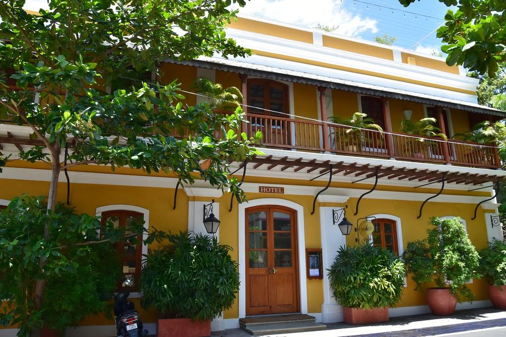 A hotel in Mahe