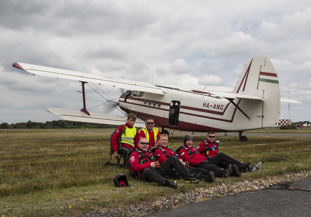 EGLK - Antonov AN-2 & Team CRWSADERS