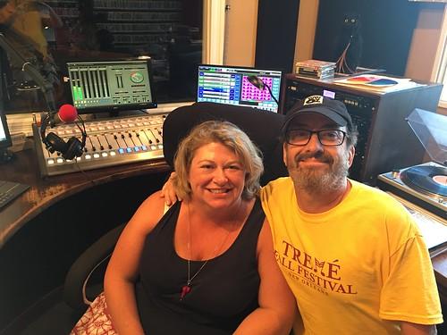 Elizabeth Meneray and Ron Phillips