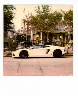 Polaroid SX-70 w/ Polaroid Originals Color Film   by ericlwoods