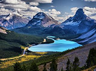 Bow Lake, Banff, NP
