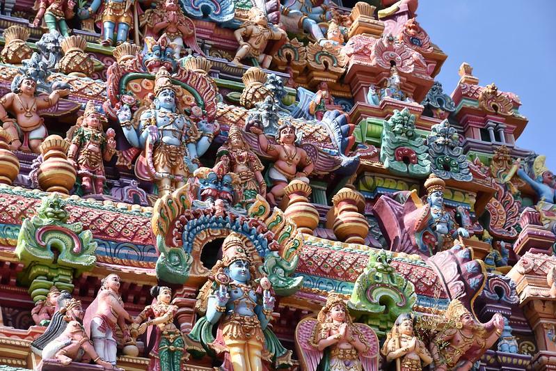 Sri Ranganathaswamy Temple, Dedicated To Vishnu, In Srirangam, Near Tiruchirappali (10)