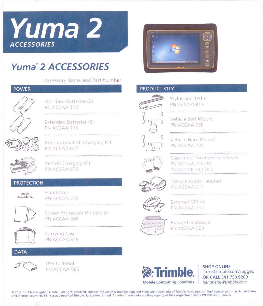 Yuma 2 Rugged Tablet for Pakistan by Dr Zawwar Hussain Man