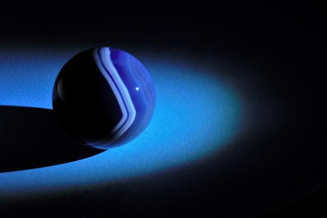 Souvenir -  Agate sphere  -  HMM