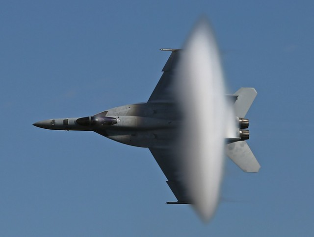 F/A-18E/F Super Hornet & Vapor Cone