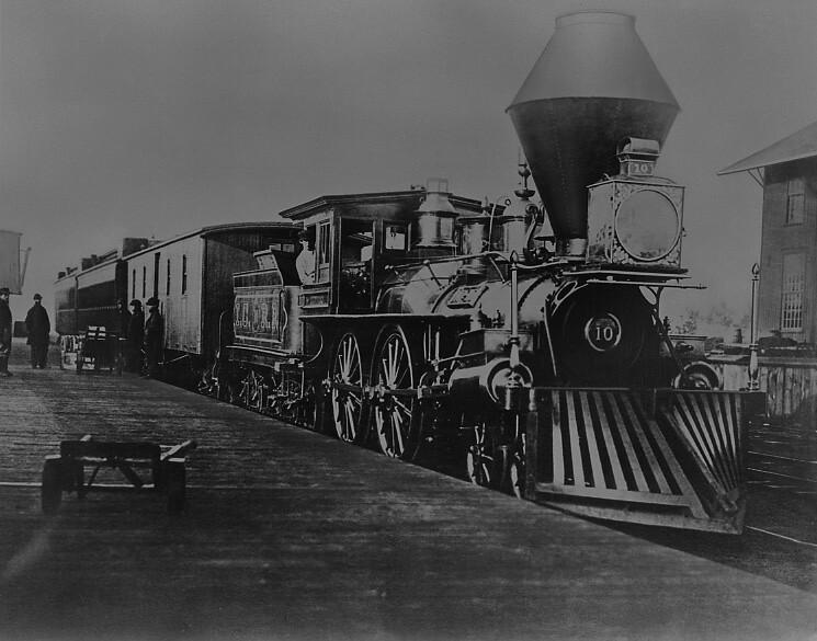 Illinois Central Railway Engine