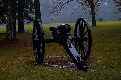 One Parrott Gun