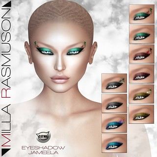MRM Jameela Eyes Makeup for Catwa Head c