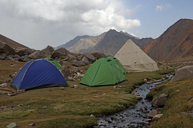 41. Campsite At Hesarchal, Alborz Mountains, Iran