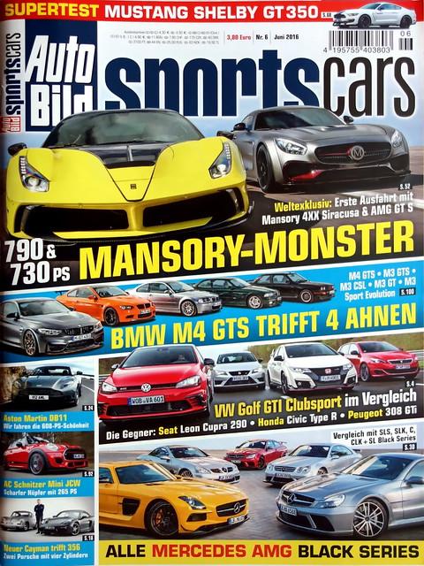 Auto Bild Sportscars 6 2016 More Cars