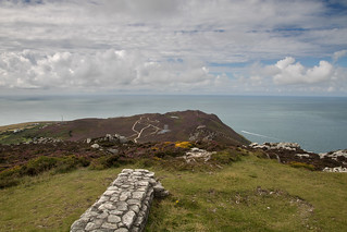 Looking towards South Stack from the summit | by johnkaysleftleg